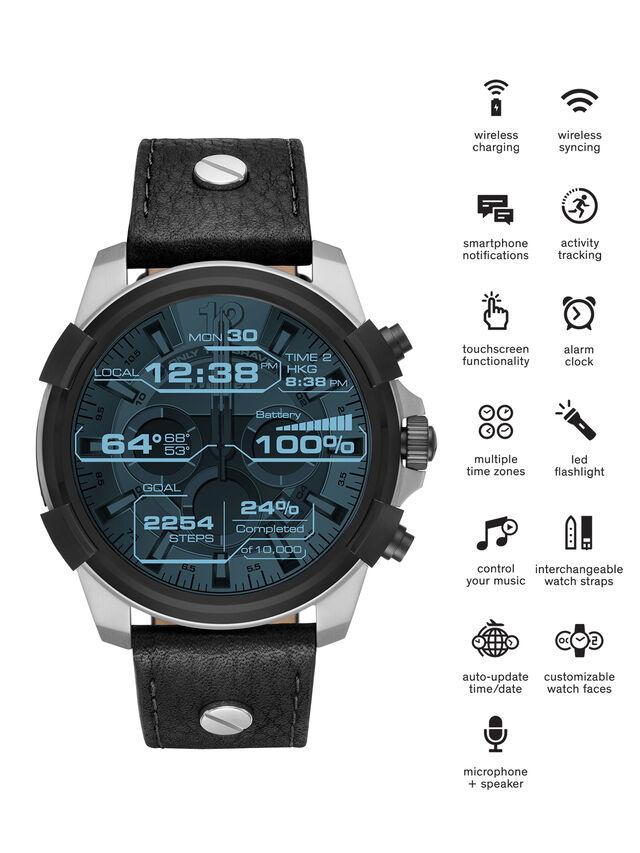 Diesel - DT2001, Noir - Smartwatches - Image 1