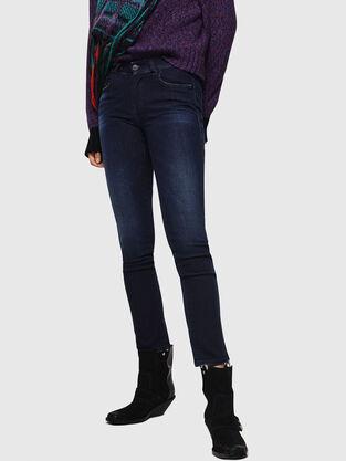Sandy 083AG, Bleu Foncé - Jeans