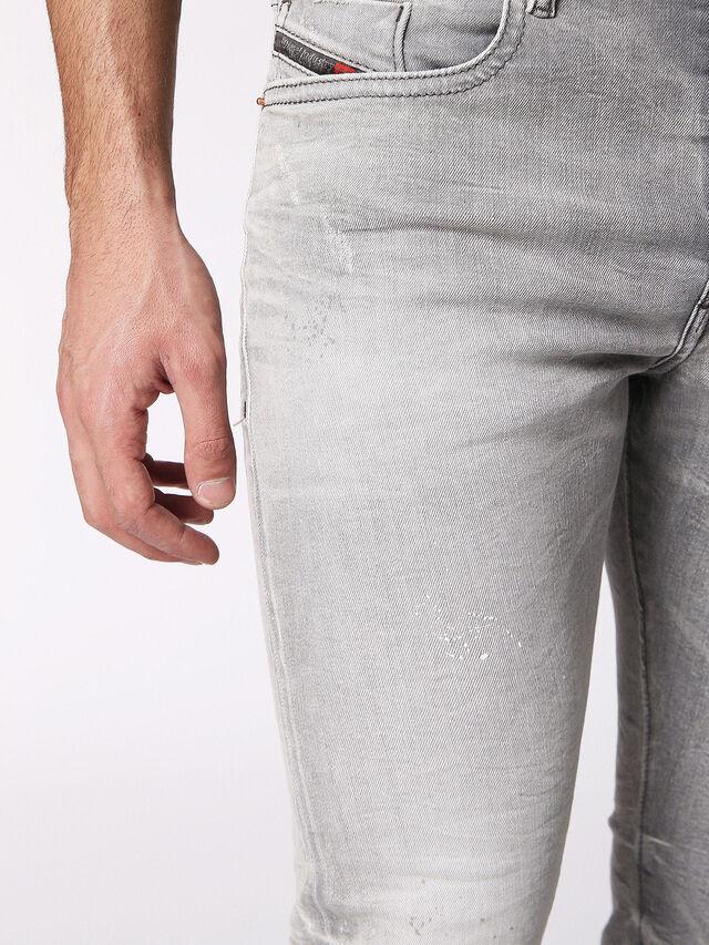 Diesel - BUSTER 0699J, Gris Clair - Jeans - Image 7