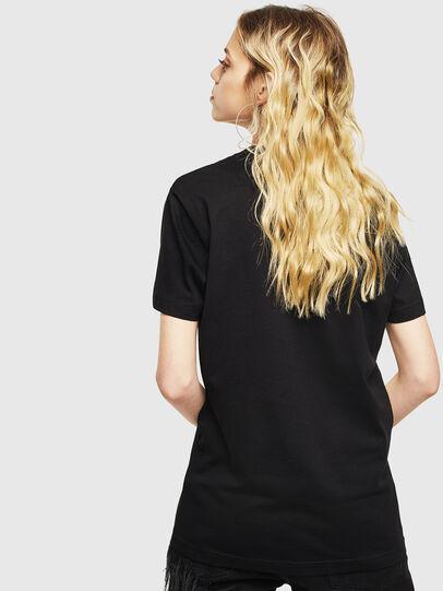 Diesel - T-DIEGO-LOGO, Noir - T-Shirts - Image 4