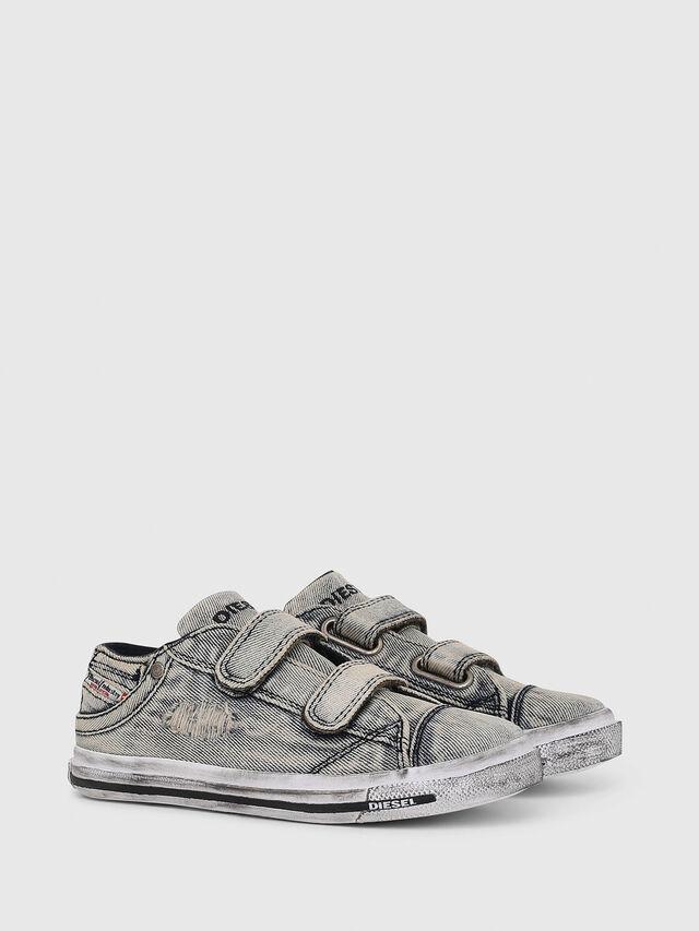 Diesel - SN LOW 11 STRAP  DEN, Jean Gris - Footwear - Image 2