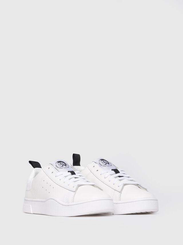Diesel - S-CLEVER LOW W, Blanc - Baskets - Image 2