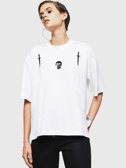 Diesel - TELIX-A, Blanc - T-Shirts - Image 1