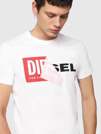 Diesel - T-DIEGO-QA, Blanc - T-Shirts - Image 3