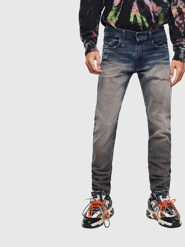 D-Strukt 0097Q, Bleu moyen - Jeans