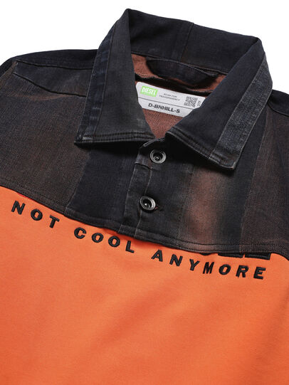 Diesel - D-BNHILL-S, Orange - Pull Cotton - Image 3