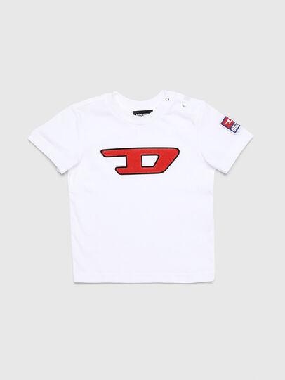 Diesel - TJUSTDIVISIONB-D, Blanc - T-shirts et Hauts - Image 1