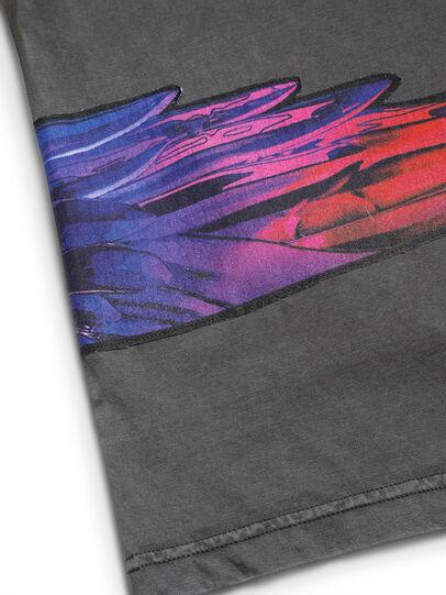 Diesel - D-5055-G, Noir - T-Shirts - Image 6