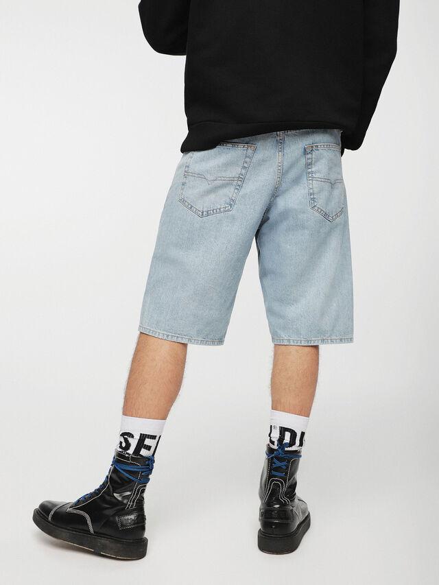 Diesel - KEESHORT, Bleu Clair - Shorts - Image 2