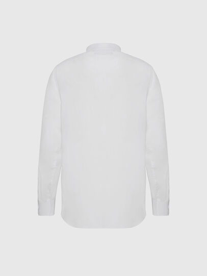 Diesel - S-BILL, Blanc - Chemises - Image 2