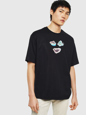 TEORIALE-A, Noir - T-Shirts