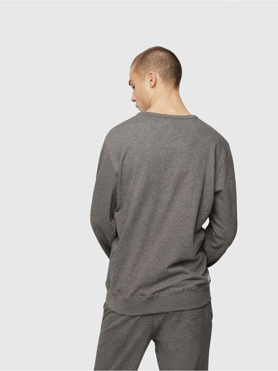 Diesel - UMLT-WILLY, Gris Chiné - Pull Cotton - Image 2
