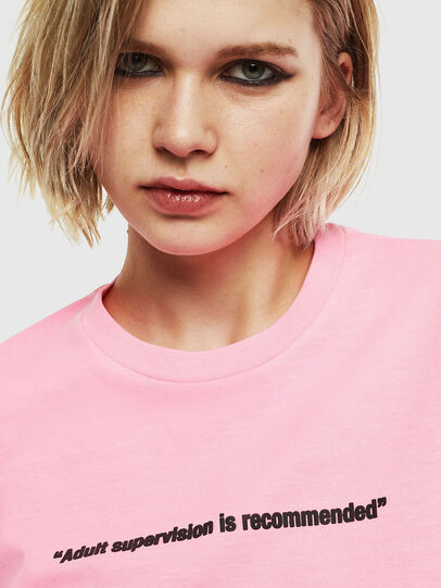 Diesel - T-JUST-NEON, Rose - T-Shirts - Image 6