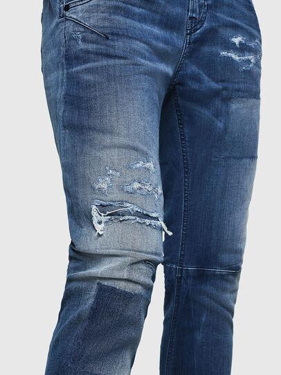 Diesel - Fayza JoggJeans 069HB, Bleu moyen - Jeans - Image 5