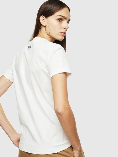 Diesel - T-SILY-YC, Blanc - T-Shirts - Image 2