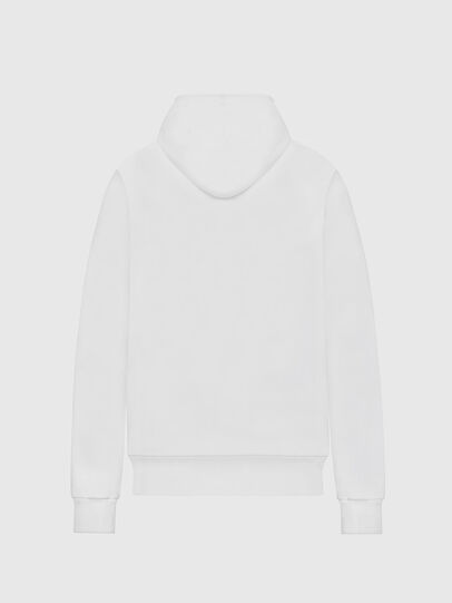 Diesel - F-MAGDALENA-E1, Blanc - Pull Cotton - Image 2