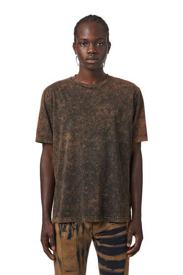 T-shirt avec effet marbré