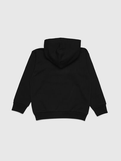 Diesel - SDIVISION OVER, Noir - Pull Cotton - Image 2