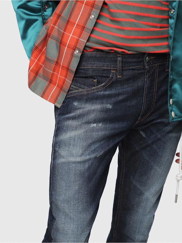 Diesel - Thommer 087AN, Bleu Foncé - Jeans - Image 3