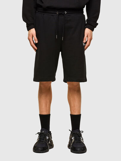 Diesel - P-CROWN-LOGO, Noir - Shorts - Image 1