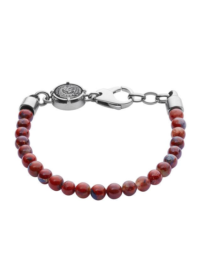 Diesel - BRACELET DX1042, Rouge - Bracelets - Image 1