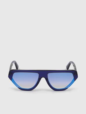 DL0322, Bleu - Lunettes de soleil