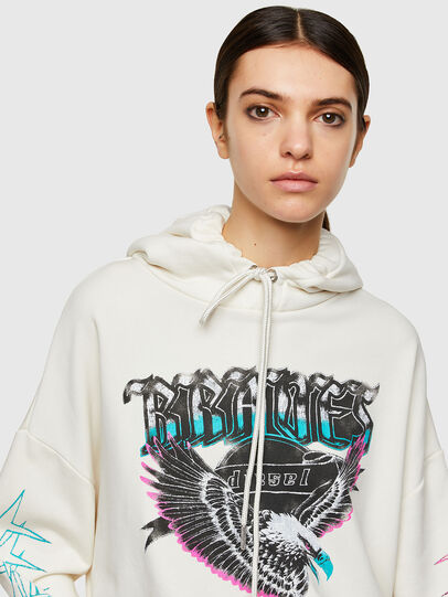 Diesel - F-MAGDALENA-A2, Blanc - Pull Cotton - Image 3