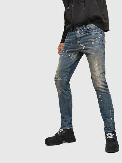 Diesel - Thommer JoggJeans 0870X, Bleu moyen - Jeans - Image 5