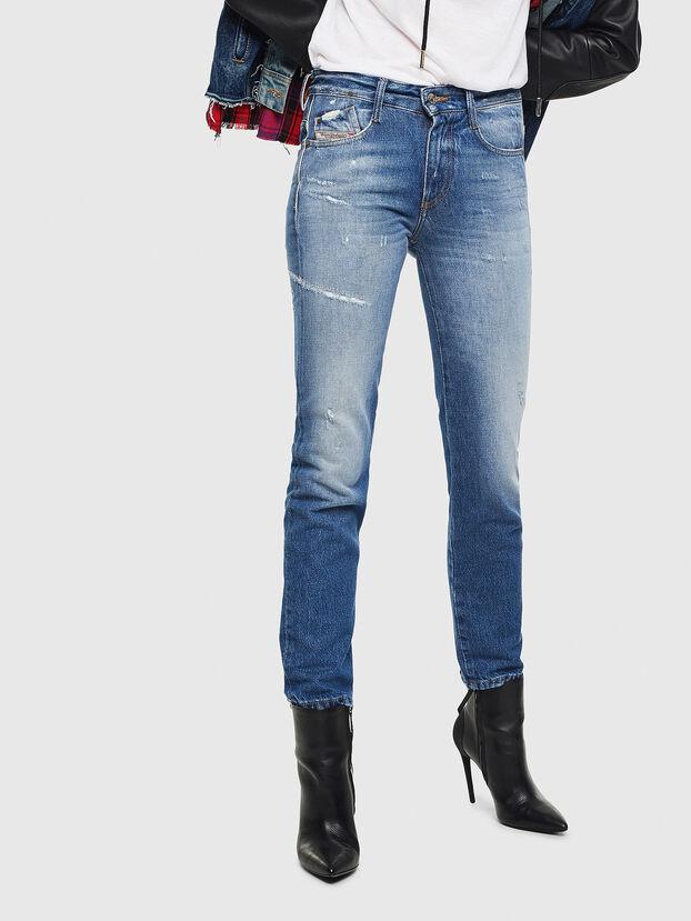 D-Rifty 0097B, Bleu moyen - Jeans