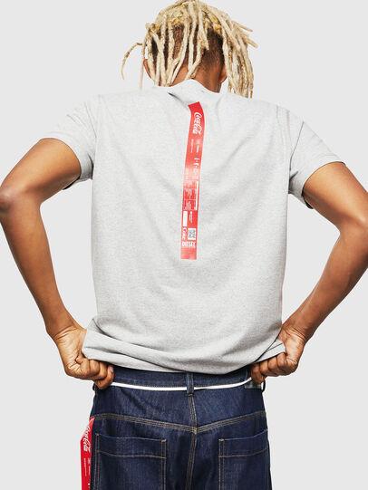 Diesel - CC-T-DIEGO-COLA, Gris - T-Shirts - Image 3
