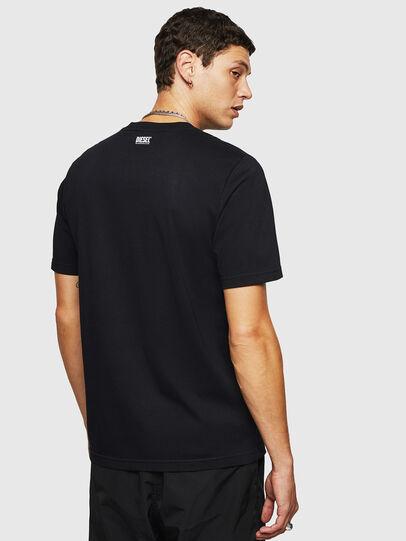 Diesel - T-JUST-B27, Noir - T-Shirts - Image 2
