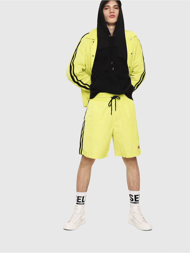 Diesel - P-BOXIE, Jaune Fluo - Shorts - Image 4