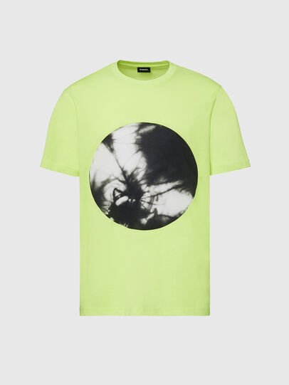 Diesel - T-MOONY-X2, Vert Fluo - T-Shirts - Image 1