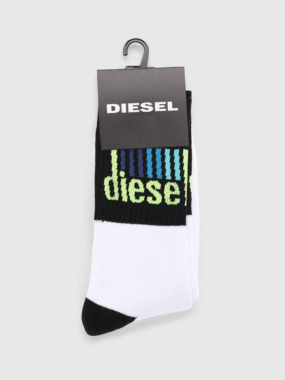 Diesel - SKM-RAY, Blanc/Noir - Chaussettes - Image 2