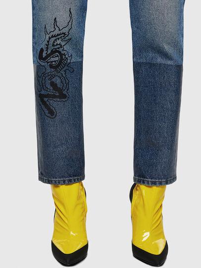 Diesel - D-Eiselle 0078T, Bleu Clair - Jeans - Image 5