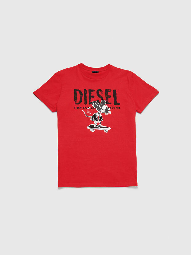 CL-T-DIEGO-1, Rouge - T-Shirts