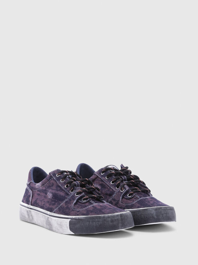 Diesel - S-FLIP LOW, Violet - Baskets - Image 2