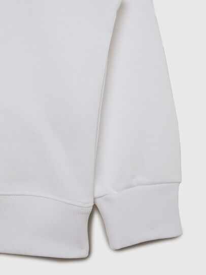 Diesel - SMUGD OVER, Blanc - Pull Cotton - Image 4