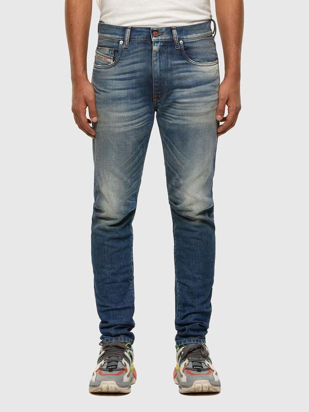 D-Strukt 009HH, Bleu moyen - Jeans