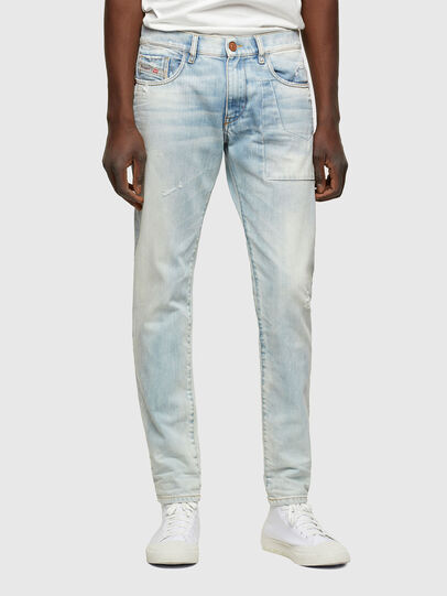 Diesel - D-Strukt 009TN, Bleu Clair - Jeans - Image 1