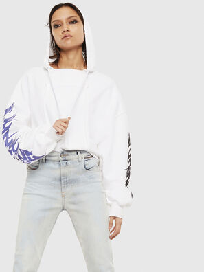F-KREEN, Blanc - Pull Cotton