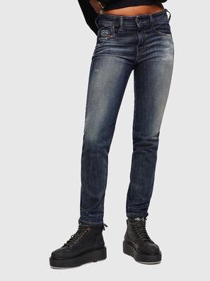D-Rifty 0096U, Bleu Foncé - Jeans
