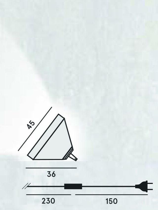Diesel - DRUMBOX TAVOLO/TERRA, Blanc - Éclairages De Table - Image 2