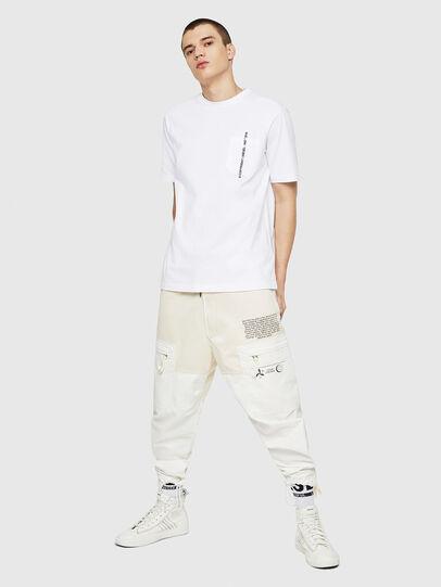 Diesel - T-JUST-POCKET-COPY, Blanc - T-Shirts - Image 5