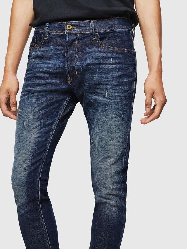 b28becb2c937d Tepphar 087AT Homme: Slim Jeans Bleu foncé   Diesel
