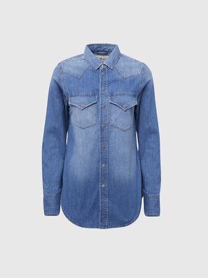 DE-RINGY, Bleu Clair - Chemises en Denim