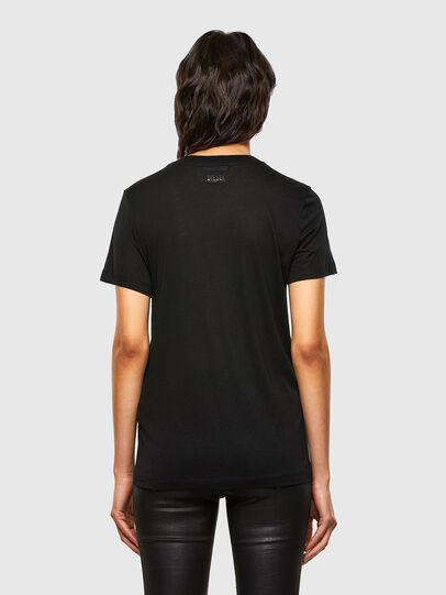 Diesel - T-SILY-V26, Noir - T-Shirts - Image 2