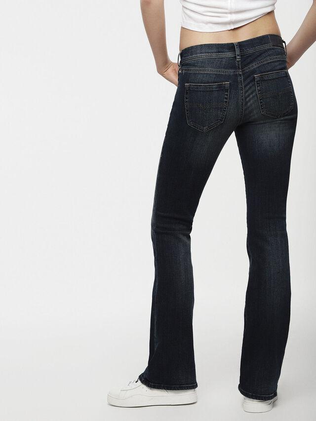 Diesel - Lowleeh 0814W, Bleu Foncé - Jeans - Image 2