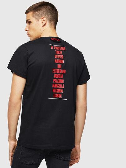 Diesel - LCP-T-DIEGO-CASA, Noir - T-Shirts - Image 3