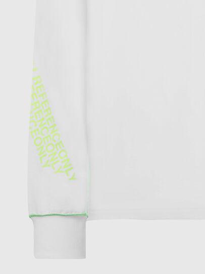 Diesel - T-JUSEAM-LS, Blanc - T-Shirts - Image 3